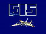 F-15 City War NES Title screen