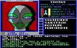Starflight DOS Mechan 9, a group of androids. (EGA/Tandy)