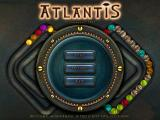Atlantis Windows Title screen and main menu