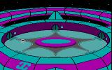 Starflight DOS At the spaceport (CGA with RGB monitor)