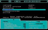 Starflight DOS Crew assignments (CGA with RGB monitor)