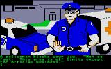 Amazon Atari ST The police are here.