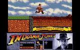 Indiana Jones and the Last Crusade: The Action Game Atari ST Jumping onto a train.