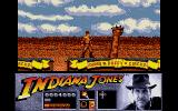 Indiana Jones and the Last Crusade: The Action Game Atari ST The animals can knock you off of the train, so be careful!