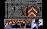 Indiana Jones and the Last Crusade: The Action Game Atari ST Climb up the castle walls to rescue Indy's father.