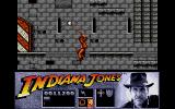 Indiana Jones and the Last Crusade: The Action Game Atari ST Indy uses his whip to swing.