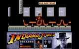 Indiana Jones and the Last Crusade: The Action Game Atari ST The zeppelin's dining room.