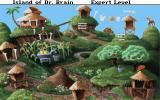 The Island of Dr. Brain DOS The village of robot natives features three language puzzles.