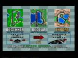 Virtua Racing Genesis Race Menu