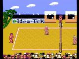 Venice Beach Volleyball NES Starting a new game