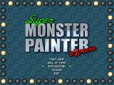 Super Monster Painter Extreme Windows Title screen and main menu.