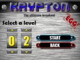 Krypton Egg Windows Now this is a feature that is useful; can only select levels as they're unlocked.