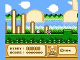 Kirby's Adventure NES Starting a new game