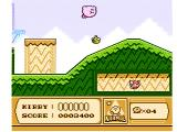 Kirby's Adventure NES Floating past some enemies