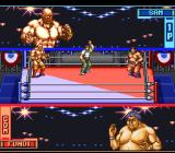 Hammerlock Wrestling SNES The match is about to start