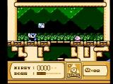 Kirby's Adventure NES Eat the blocks this guy tosses at you and then use them as weapons