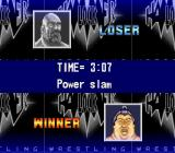 Hammerlock Wrestling SNES Match result