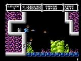 Cybernoid: The Fighting Machine NES A large, green, blob like creature