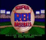 Super R.B.I. Baseball SNES Title screen