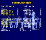 Super R.B.I. Baseball SNES Create a team