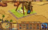 Westward II: Heroes of the Frontier Windows Setting up a gold mine construction site.