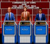 Jeopardy! Deluxe Edition SNES A new Jeopardy champion is crowned