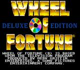 Wheel of Fortune: Deluxe Edition SNES Title screen