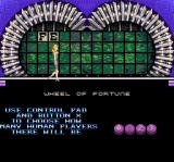 Wheel of Fortune: Deluxe Edition SNES Choose the number of players