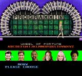 Wheel of Fortune: Deluxe Edition SNES Choose a character to represent the player