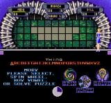 Wheel of Fortune: Deluxe Edition SNES Either spin the wheel, buy a vowel, or solve the puzzle