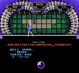 Wheel of Fortune: Deluxe Edition SNES Vanna revealing the letters