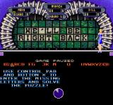 Wheel of Fortune: Deluxe Edition SNES Game paused