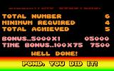 James Pond: Underwater Agent Atari ST Level 1 completed!