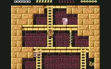 Rick Dangerous Commodore 64 Level 2 - Avoid the traps and enemies.