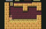 Rick Dangerous Commodore 64 Level 2 - How will Rick get past this pit?