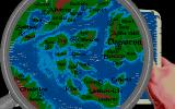 Sinbad and the Throne of the Falcon Atari ST Close up of the map.