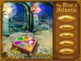 The Rise of Atlantis Windows Title screen and main menu