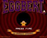 Eggbert in Eggciting Adventure MSX Title screen