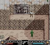 Indiana Jones and the Infernal Machine Game Boy Color Level 2 - A Russian guard is here.