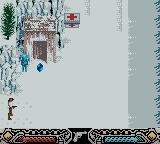 Indiana Jones and the Infernal Machine Game Boy Color Level 3 - Russian outpost.