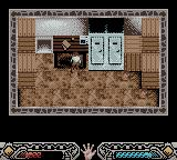 Indiana Jones and the Infernal Machine Game Boy Color Level 3 - A room inside of the Russian building.