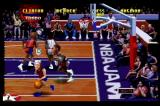 NBA Jam Tournament Edition Jaguar Rushing for a hot spot. A 7-point shot will even up the score.