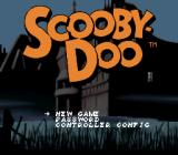 Scooby-Doo Mystery SNES Main menu