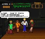 Scooby-Doo Mystery SNES Dialogue