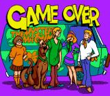 Scooby-Doo Mystery SNES Game over (notice that Daphne gives the player a face palm)