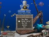 Big Kahuna Reef 2: Chain Reaction Windows Title screen and main menu