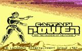 Captain Power and the Soldiers of the Future Commodore 64 Title Screen