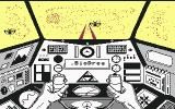 Captain Power and the Soldiers of the Future Commodore 64 Shooting at enemy fighter