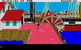 Gold Rush! Atari ST At the docks.
