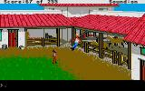Gold Rush! Atari ST Mules in the fort.